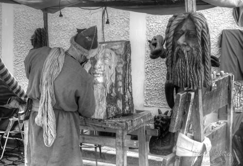 Ebenista a la Fira Medieval